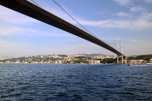 First Bosphorus Bridge in Istanbul